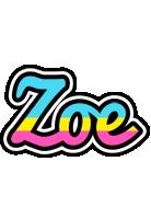 Zoe circus logo