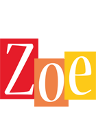 Zoe colors logo