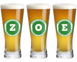 Zoe lager logo