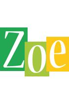 Zoe lemonade logo