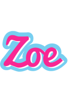 Zoe popstar logo