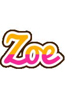 Zoe smoothie logo