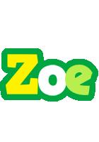 Zoe soccer logo
