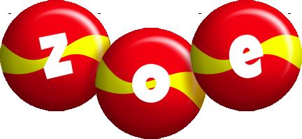 Zoe spain logo