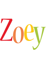 Zoey birthday logo