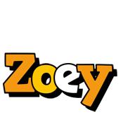 Zoey cartoon logo