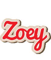 Zoey chocolate logo