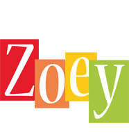 Zoey colors logo