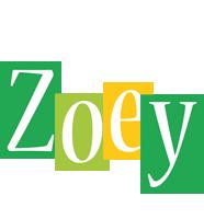 Zoey lemonade logo