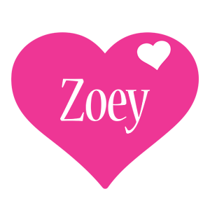 Zoey love-heart logo