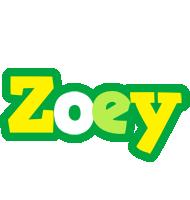 Zoey soccer logo