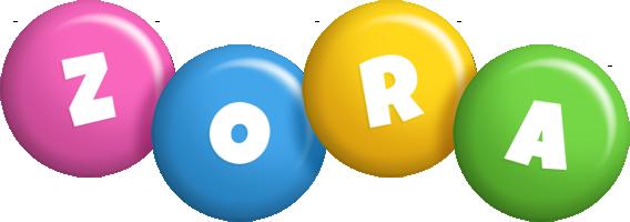 Zora candy logo
