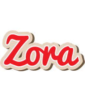 Zora chocolate logo