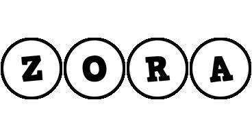 Zora handy logo