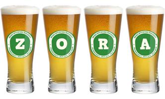 Zora lager logo