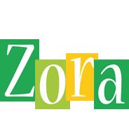 Zora lemonade logo