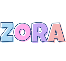 Zora pastel logo