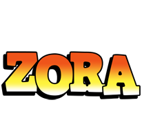 Zora sunset logo