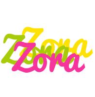Zora sweets logo