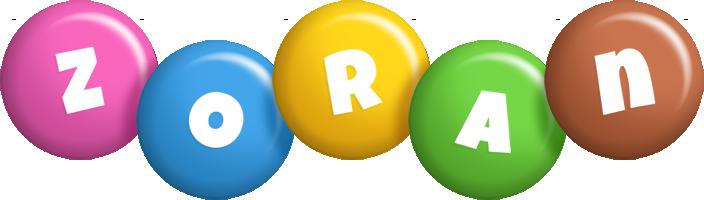 Zoran candy logo