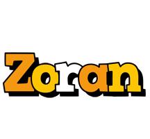 Zoran cartoon logo