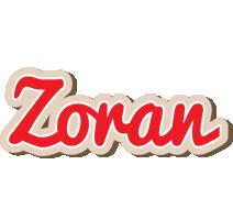 Zoran chocolate logo
