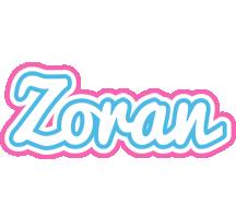 Zoran outdoors logo