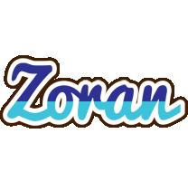 Zoran raining logo