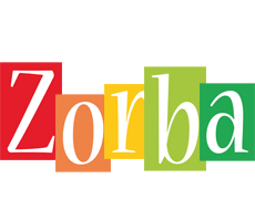 Zorba colors logo
