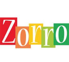 Zorro colors logo