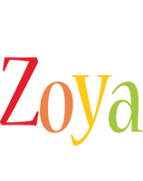 Zoya birthday logo