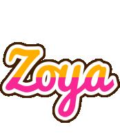 Zoya smoothie logo