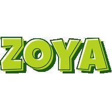 Zoya summer logo