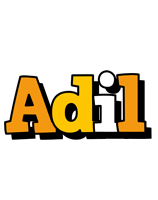 adil cartoon logo