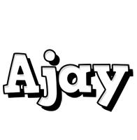 ajay snowing logo