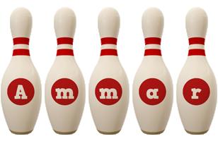 ammar bowling-pin logo