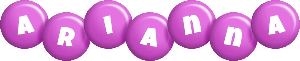 arianna candy-purple logo