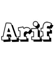 arif snowing logo