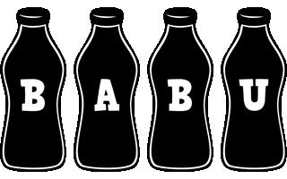 babu bottle logo