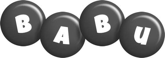 babu candy-black logo