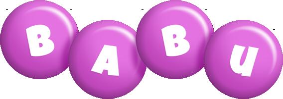 babu candy-purple logo