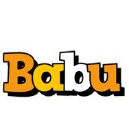 babu cartoon logo