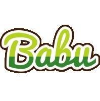 babu golfing logo