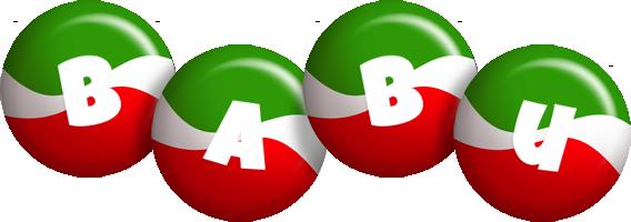babu italy logo