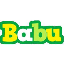 babu soccer logo