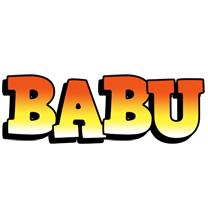 babu sunset logo