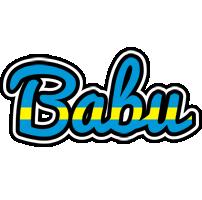 babu sweden logo