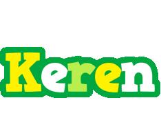 keren soccer logo