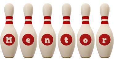 mentor bowling-pin logo