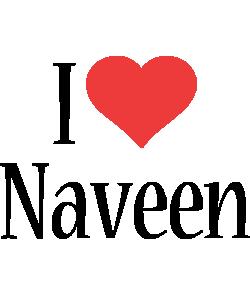 naveen i-love logo